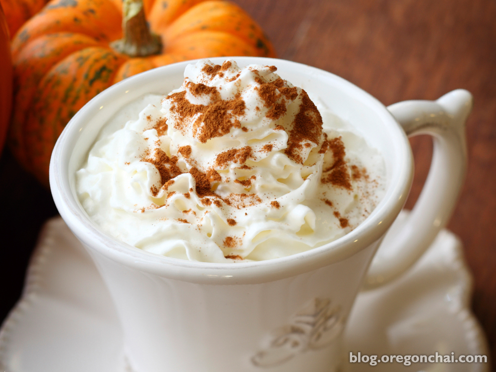 Oregon Chai Pumpkin Spice Latte