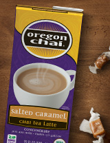 New Salted Caramel Chai from Oregon Chai