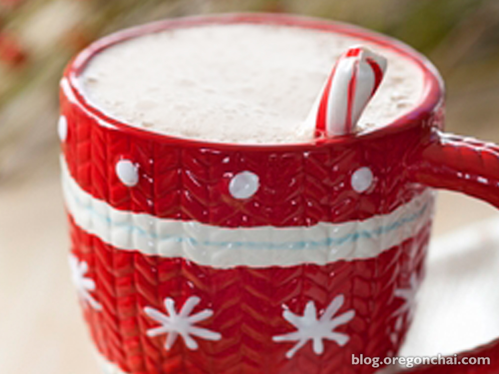 Delight in the Holidays with Oregon Chai Peppermint Chai Tea