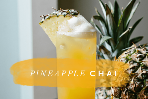 Pineapple chai recipe