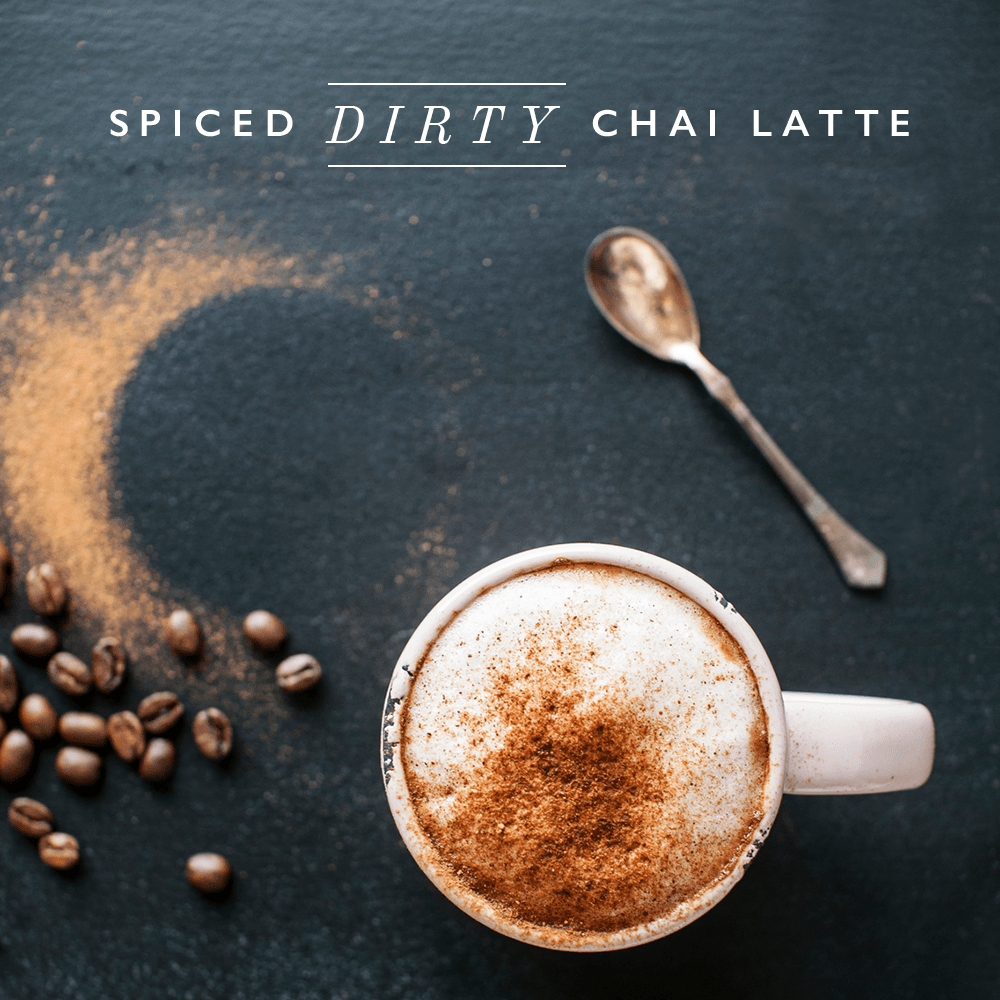 Spice it up. Oregon Chai spiced dirty chai latte