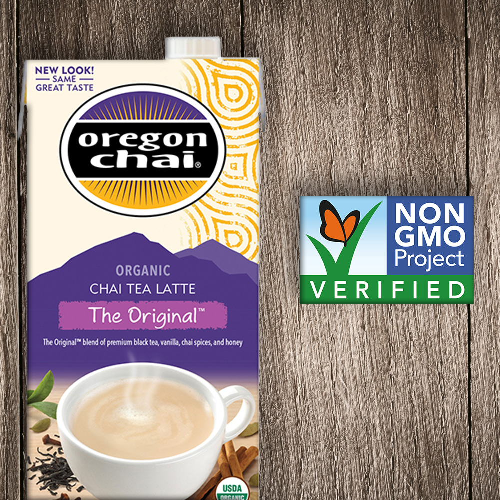 We're proud to be the only chai tea brand to offer five Non-GMO Project Verified chai tea flavors. Read on to learn more.
