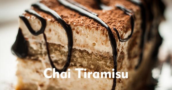 Chai Tiramisu