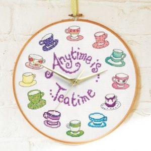 Tea Time Cross Stitch