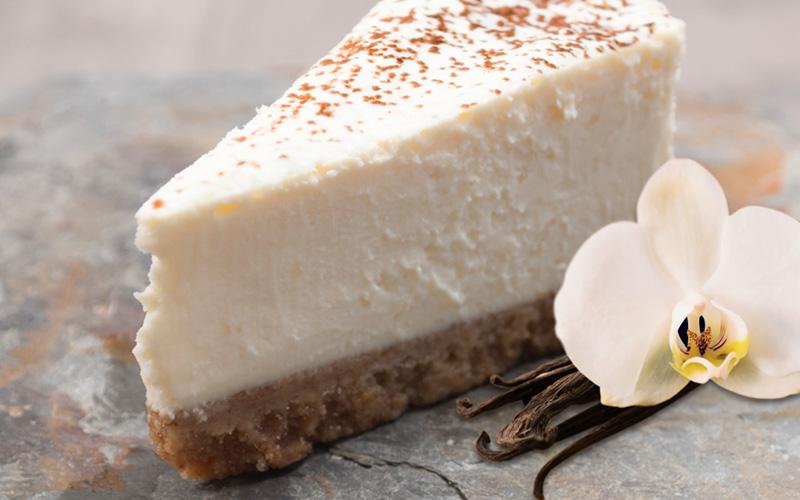 Vanilla Chai Cheesecake